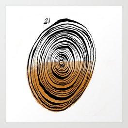 Twenty One Art Print
