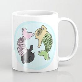 Merpug aka pisces pug! Coffee Mug