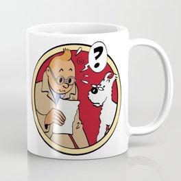 Tintin Afflelou Coffee Mug