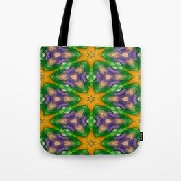 Mardi Gras stars #4509 Tote Bag