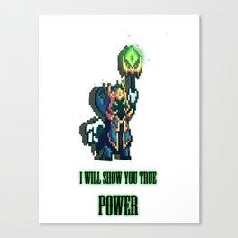 Super Boss Veigar Canvas Print