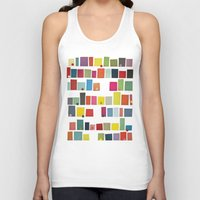 city Tank Tops featuring City by Cassia Beck