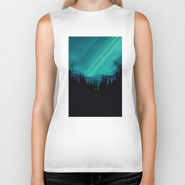Magic in the Woods - Turquoise Biker Tank