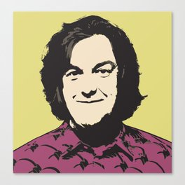 James May Pop Art Canvas Print