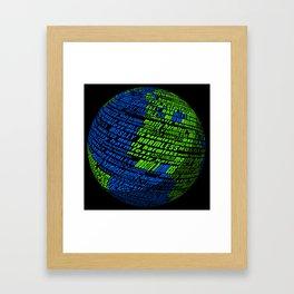 Mostly Harmless Framed Art Print