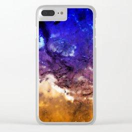 Spatial Magic Clear iPhone Case