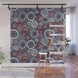 Life Circles:  Slate Wall Mural