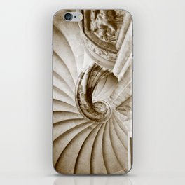 Sand stone spiral staircase 16 iPhone Skin