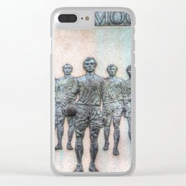Bobby Moore Statue England 1966 Clear iPhone Case