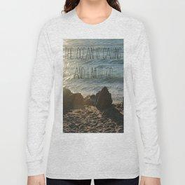 The Ocean is Calling Long Sleeve T-shirt