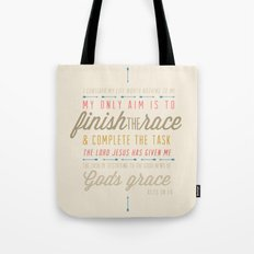 Acts 20:24 Tote Bag