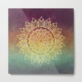 Nature's Mandala Metal Print
