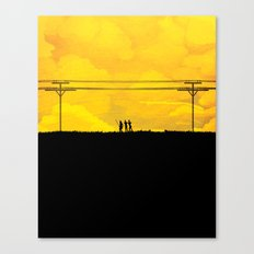 To the prison Canvas Print