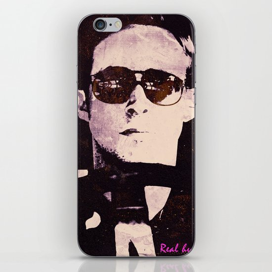 A Real Hero iPhone & iPod Skin