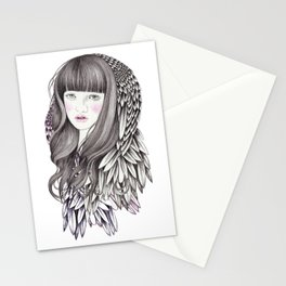 Nightbird Stationery Cards