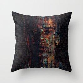 Logic - Nikki Poster Throw Pillow