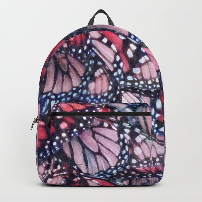 Monarch Butterflies Backpack