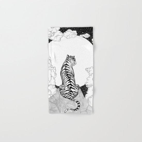 Tiger Moon Hand & Bath Towel