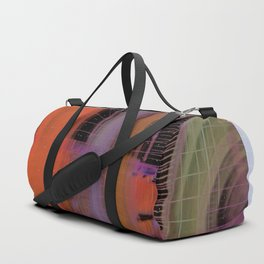 A Secret Locked Away Duffle Bag