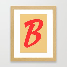 ABC FY - B Framed Art Print