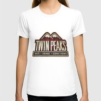 twin peaks T-shirts featuring Twin Peaks by Allelujah