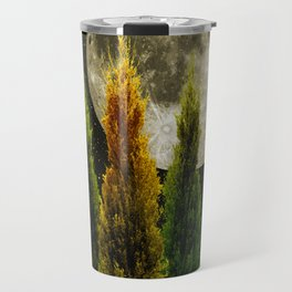 three trees Travel Mug