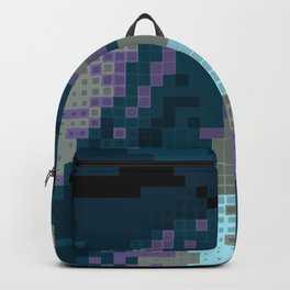 turquoise fields Backpack