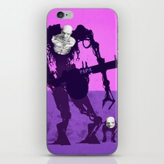 Papa Cyborg Baby Cyborg iPhone & iPod Skin