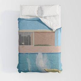 A Bigger Splash - David Hockney, 1967 Comforters