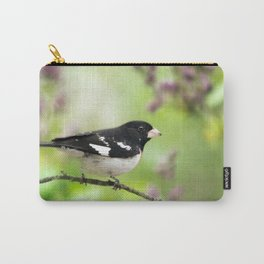 Spring Songbird Carry-All Pouch