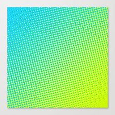 80's grade light blue Canvas Print