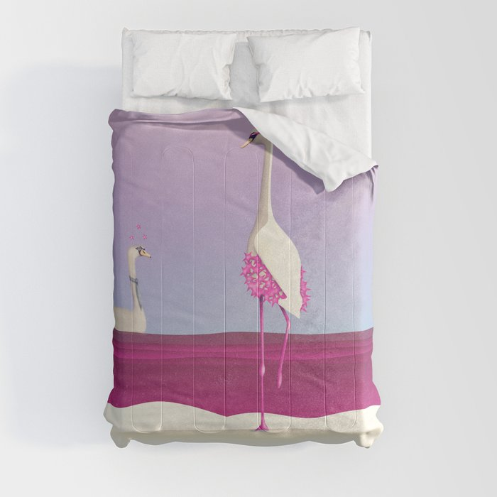 Flamingo Fatale Comforters