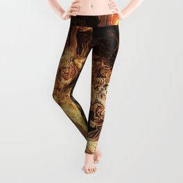 Demons attack!! Leggings