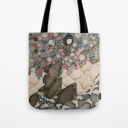 predator/prey Tote Bag
