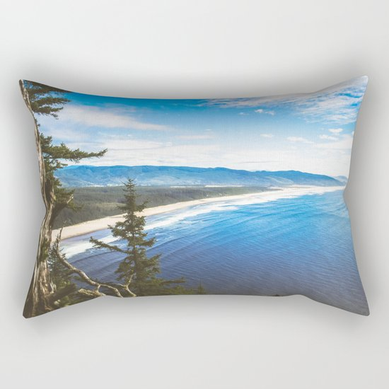 Wasted Youth Rectangular Pillow