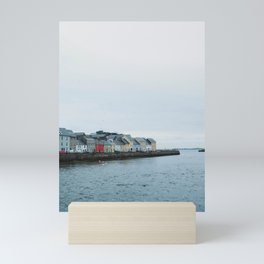 Galway, Ireland Long Walk Mini Art Print