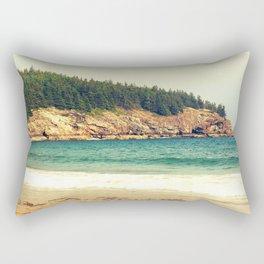 Sand Beach Rectangular Pillow