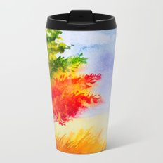Autumn scenery #9 Metal Travel Mug