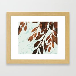 kelp Framed Art Print