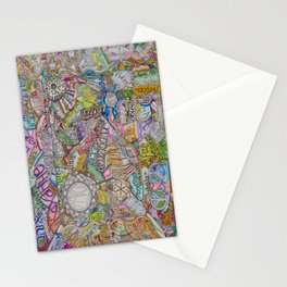 Love in many languages Stationery Cards