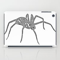 spider iPad Cases featuring Spider by Jessica Slater Design & Illustration