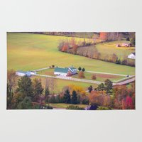 tennessee Area & Throw Rugs featuring Tennessee Country by Mary Timman