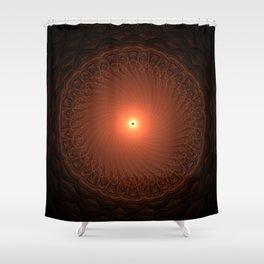 Mini Eclipse Shower Curtain