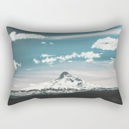 Mountain Morning - Nature Photography Rectangular Pillow