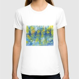 By the lake watercolor T-shirt