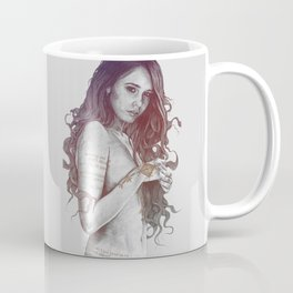You Lied: Rainbow (nude girl with mehndi tattoos) Coffee Mug