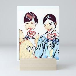 Insta 2 Mini Art Print