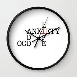 ADD/OCD/Anxiety Wall Clock