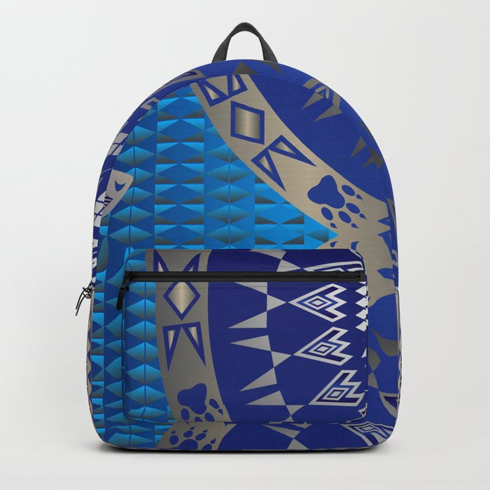 The Wolf (Blue) Backpack