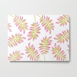 Tropical Palm Leaf 03 Metal Print